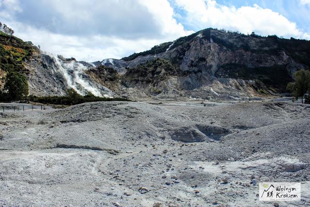 Solfatara vulcano