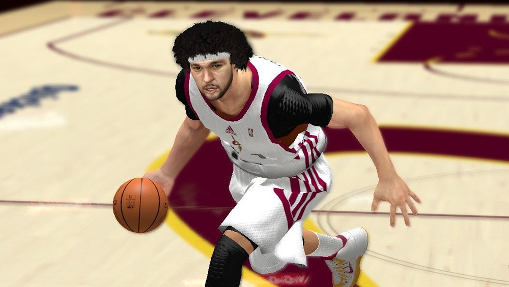 NBA 2K14 Anderson Varejao Cyberface Patch