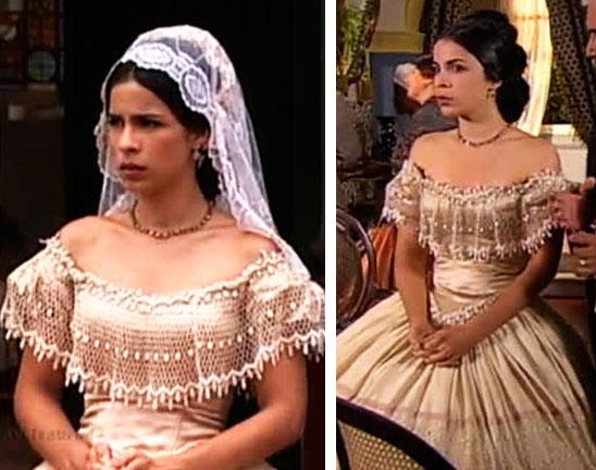 Vestido Malvina, Casamento