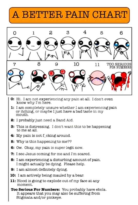 The pain chart also bookworms unite hyperbole and  half  didn   love it as rh bookwormsunitebookreviewsspot