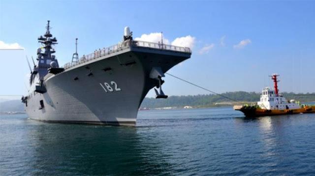 Tiba Di Filipina Kapal Destroyer Jepang Siaga Atasi kekuatan Cina di LCS