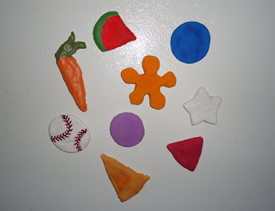 Salt Dough Ref Magnets