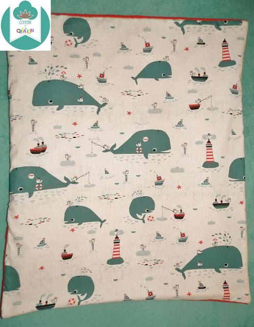 Coton et Création : couverture bébé