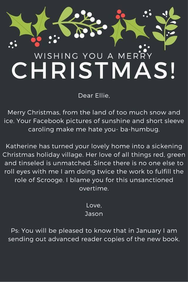 Christmas Letters Friends