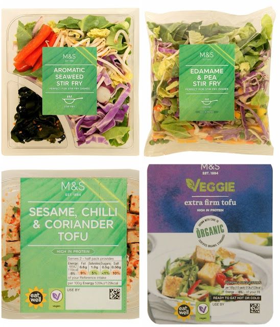 New vegetarian and vegan stir fry options from M&S
