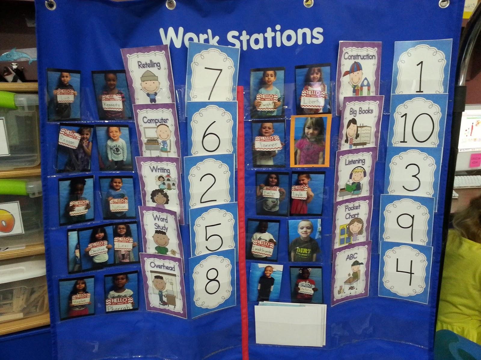 Kindergarten Lifestyle Setting Up Literacy Centers