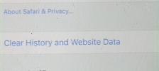 Cara menghapus cache browser safari pada ios