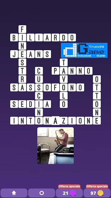Soluzioni One Clue Crossword livello 22 schemi 8 (Cruciverba illustrato)  | Parole e foto