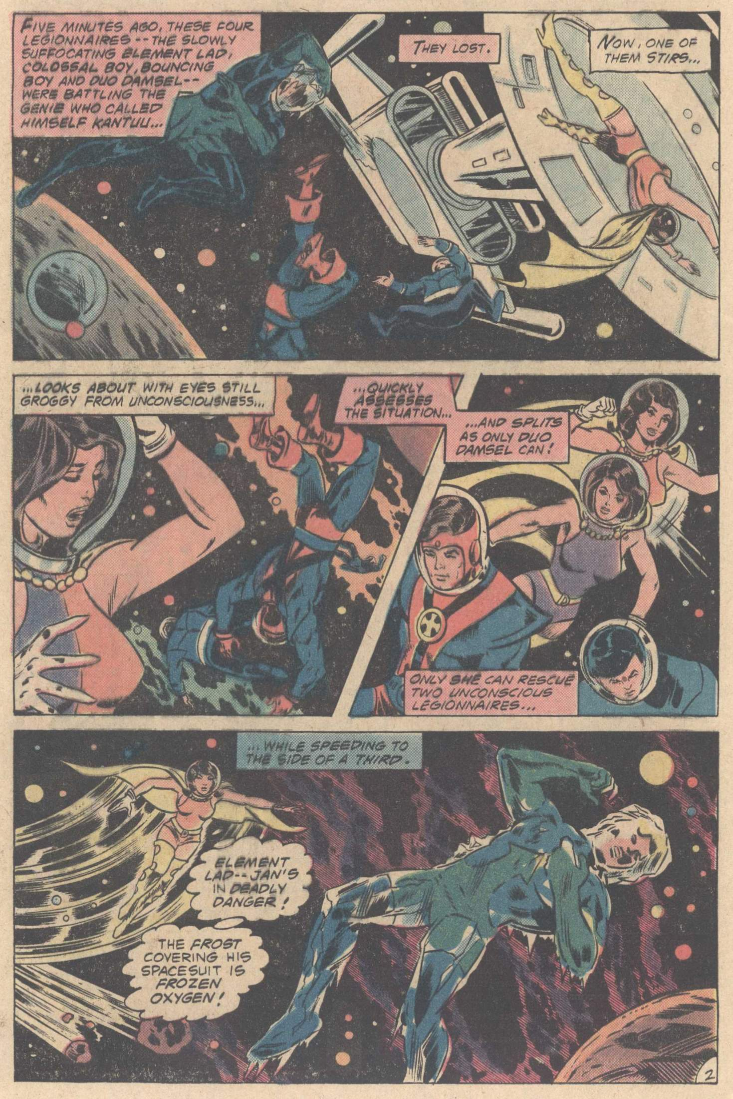Legion of Super-Heroes (1980) 267 Page 3