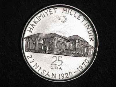 Turkish Commemorative Coins lira