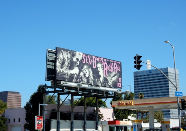 Sex Drugs Rock Roll series premiere billboard