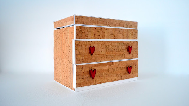 cajonera costurero diy sewing box
