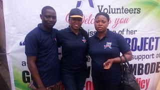 Team A+ Volunteer Group 6