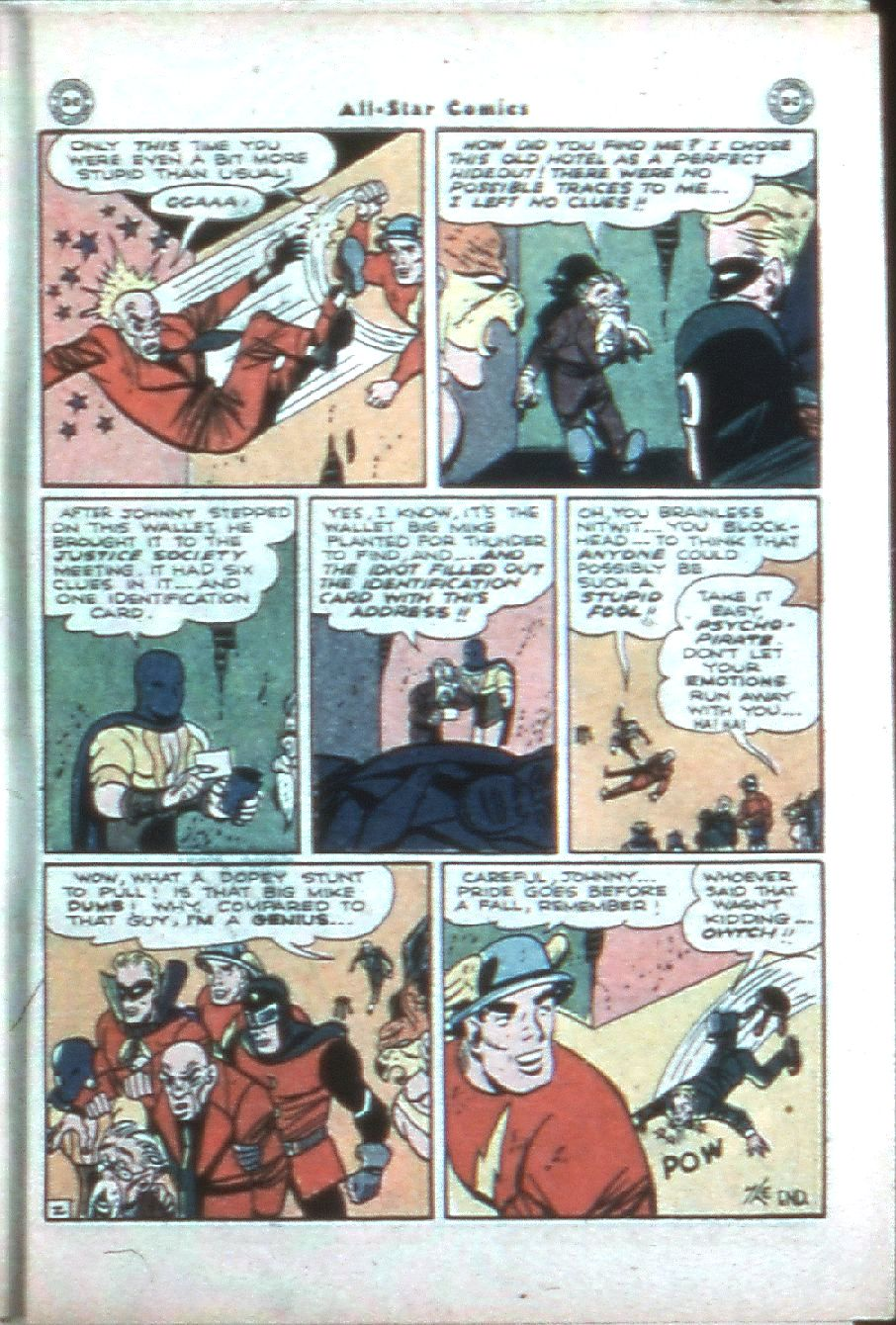 Read online All-Star Comics comic -  Issue #32 - 45