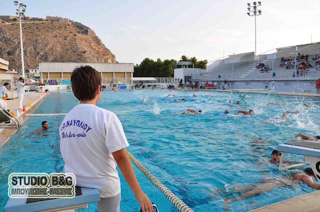 Στην ημιτελική φάση του Παιδικού Πρωταθλήματος Υδατοσφαίρισης ο Ναυτικός Όμιλος Ναυπλίου
