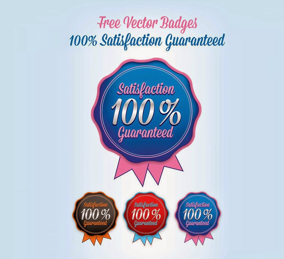 Satisfaction Guaranteed Badges