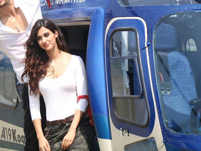 Disha Patani Stills At Baaghi 2 Trailer Launch At PVR