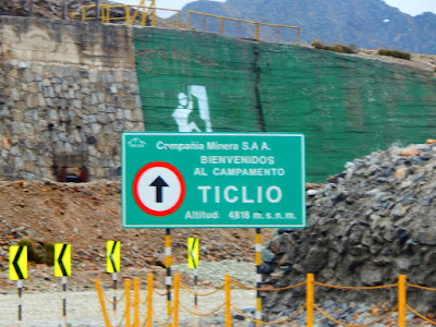 Ticlio Chicla Huarochiri Lima