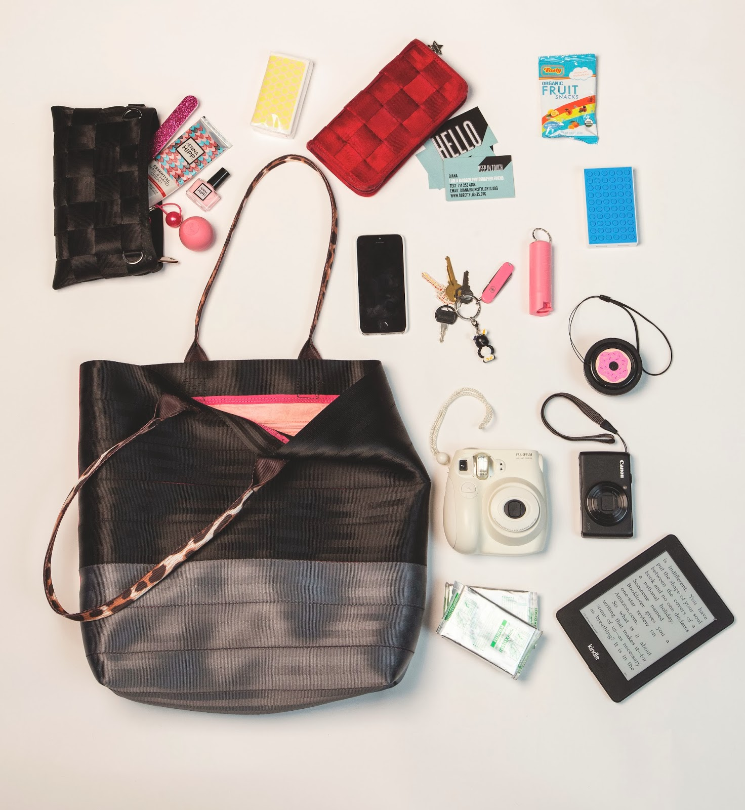 Seatbeltblog Whats In Your Bag Diana From Our City Lights