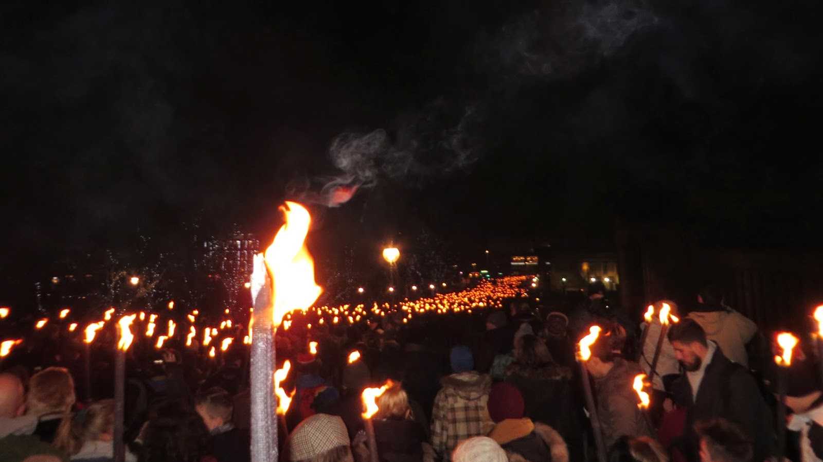 Hogmanay, Torchlight Procession, Edinburgh, Scotland, Things to do, Must do, Travel New Years, Torch, Flame, Fire, Erins Ever After, Erin's Ever After, Erinseverafter,