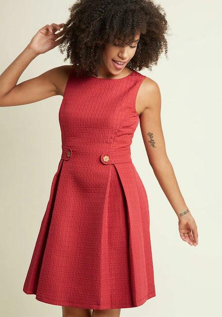 Red Brick Dress