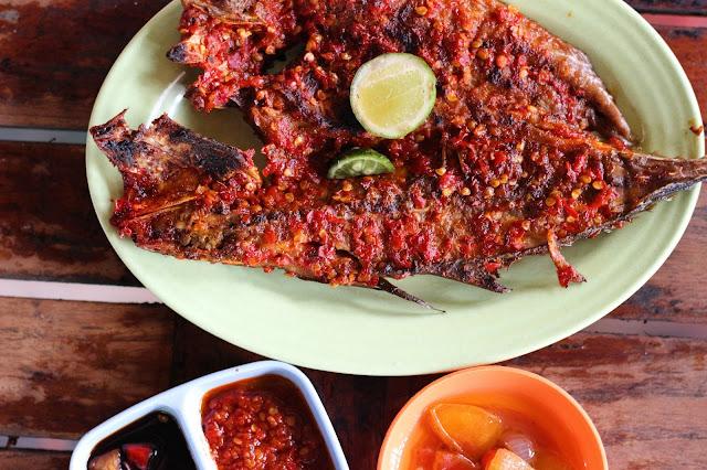 Ikan Bakar Makassar