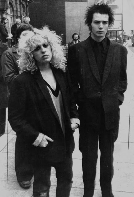 Sid Vicious And Nancy Spungen 26 Vintage Photographs Of -3301