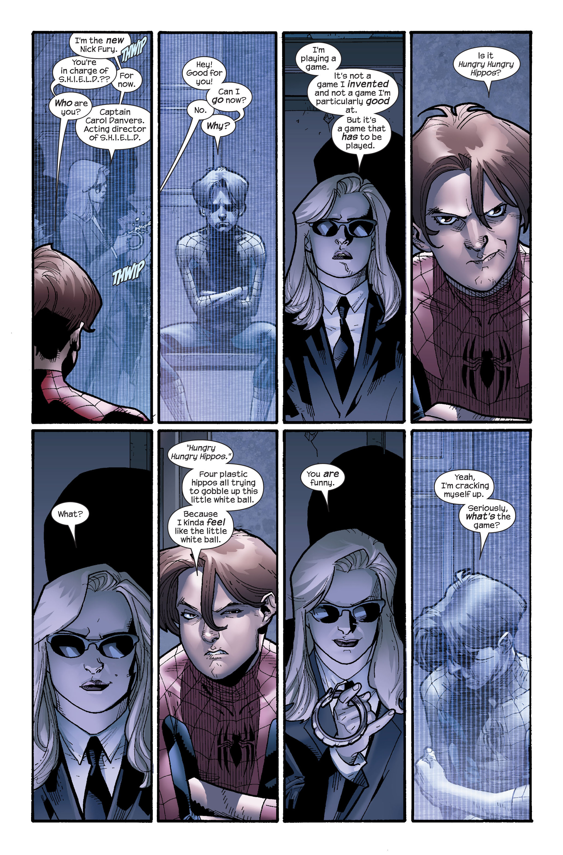 Read online Ultimate Spider-Man (2000) comic -  Issue #115 - 6