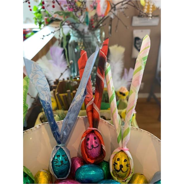 pupuja pääsiäismunista askartelu