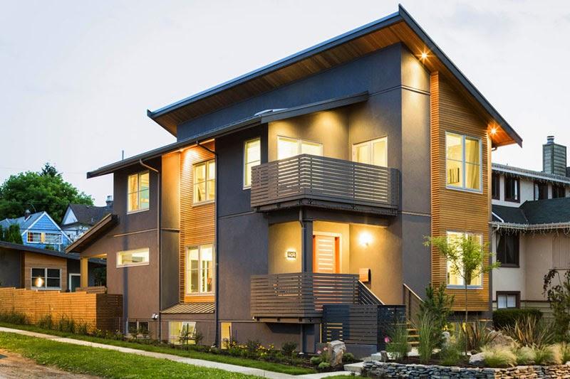 Desain rumah ala eropa modern minimalis mewah terbaik ...