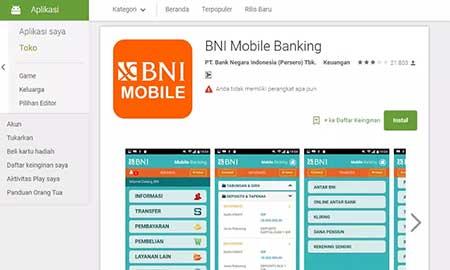 Aktivasi BNI m-Banking Gagal SMS Verifikasi