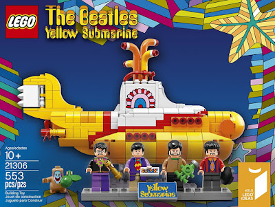 The Beatles Yellow Submarine Lego Set 21306
