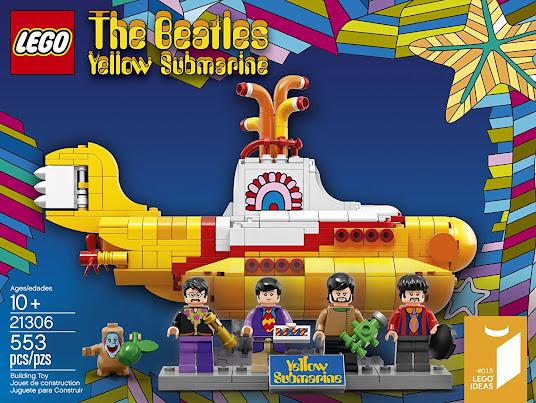 The Beatles Yellow Submarine Lego Set 21306