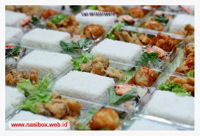 Nasi box variatif di ciwidey