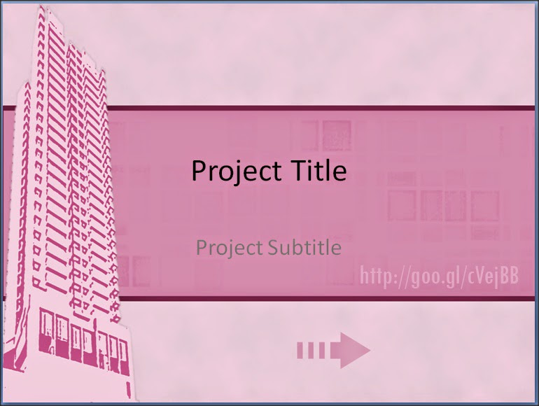 Front Sample Animation in PowerPoint Templates For Project Presentation
