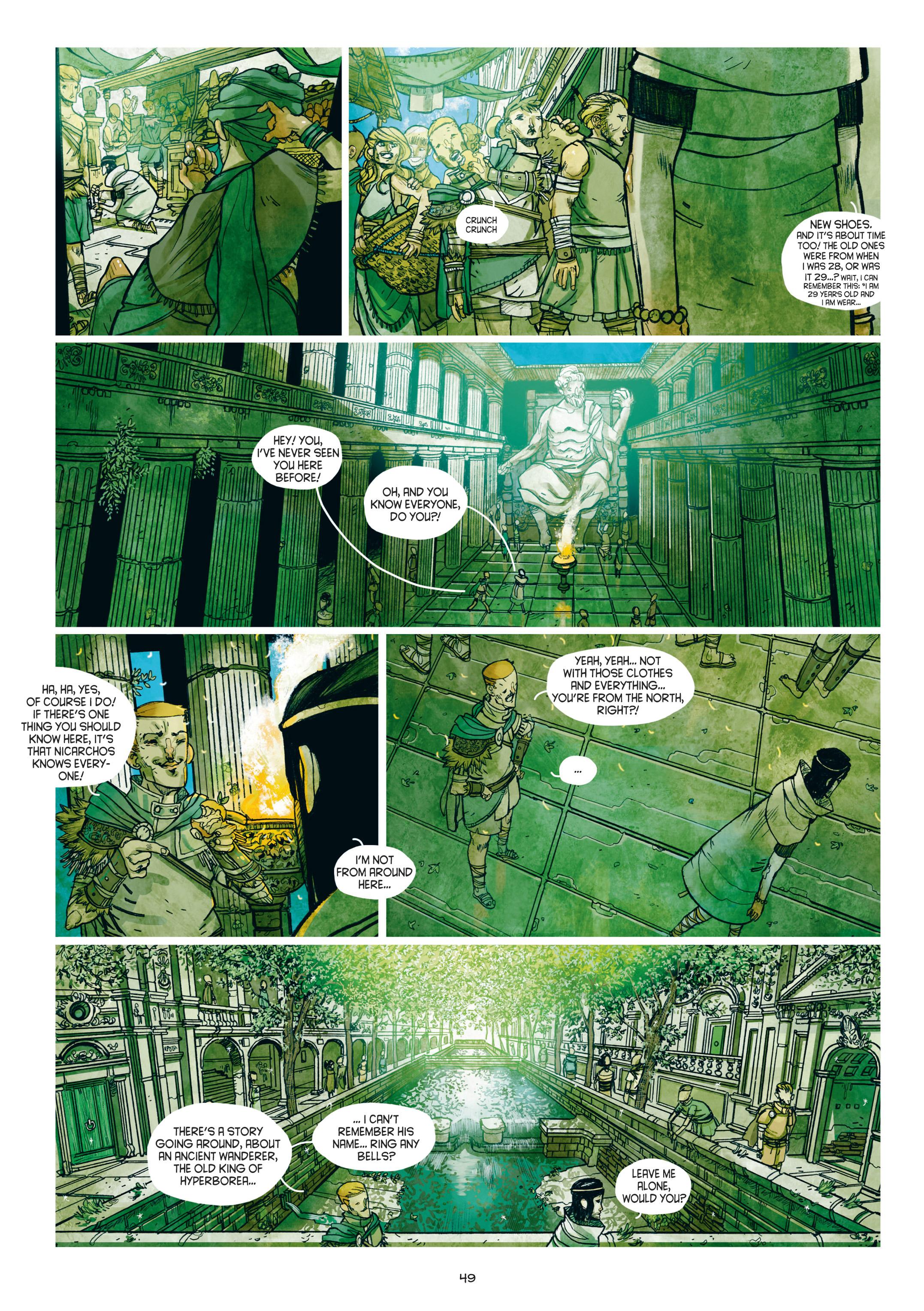 Read online Adrastée comic -  Issue #1 - 50