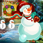 G4K Christmas Snowman Rescue Game