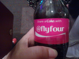 @Flyfour's personalised Bottle of Coke