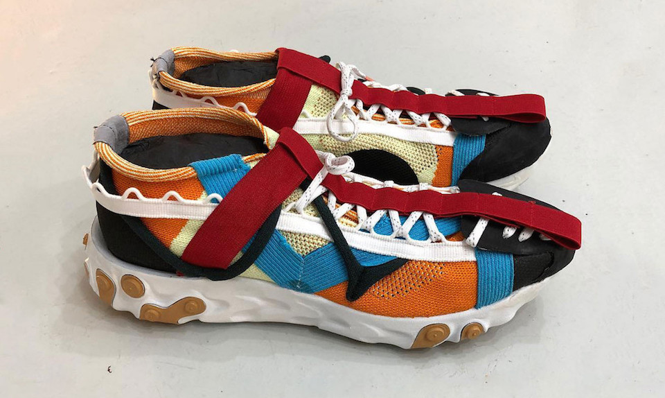 844638ad50b5 NIKE PRESENT REACT ELEMENT 87 DECONSTRUCTED X CRAIG GREEN ~ Most Hyped  Magazine