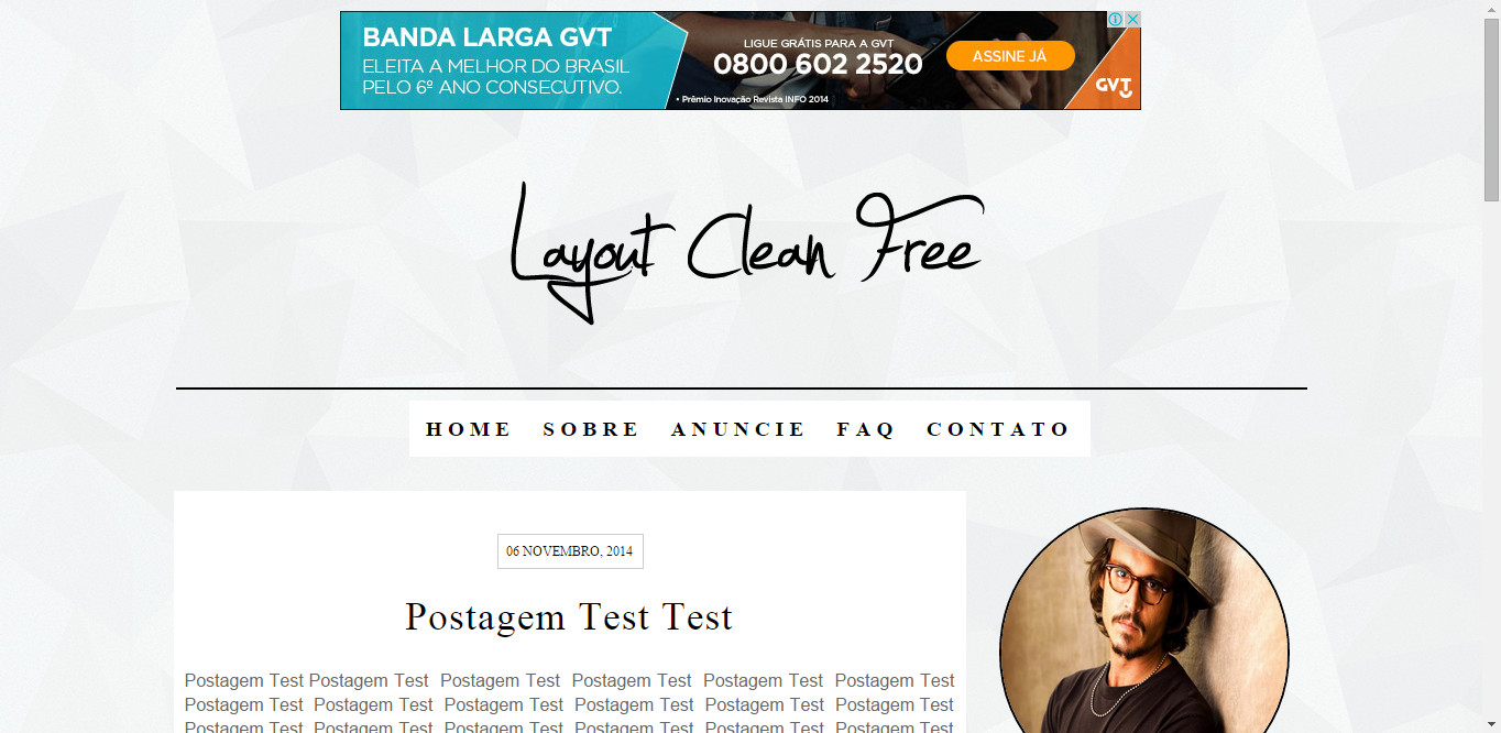 Layout Clean Free