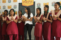 Actress Priya Anand in T Shirt with Students of Shiksha Movement Events 38.jpg