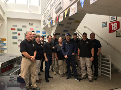 Chase Elliott and Jeff Gordon Visited the FBI Tactical Emergency Vehicle Operations Center