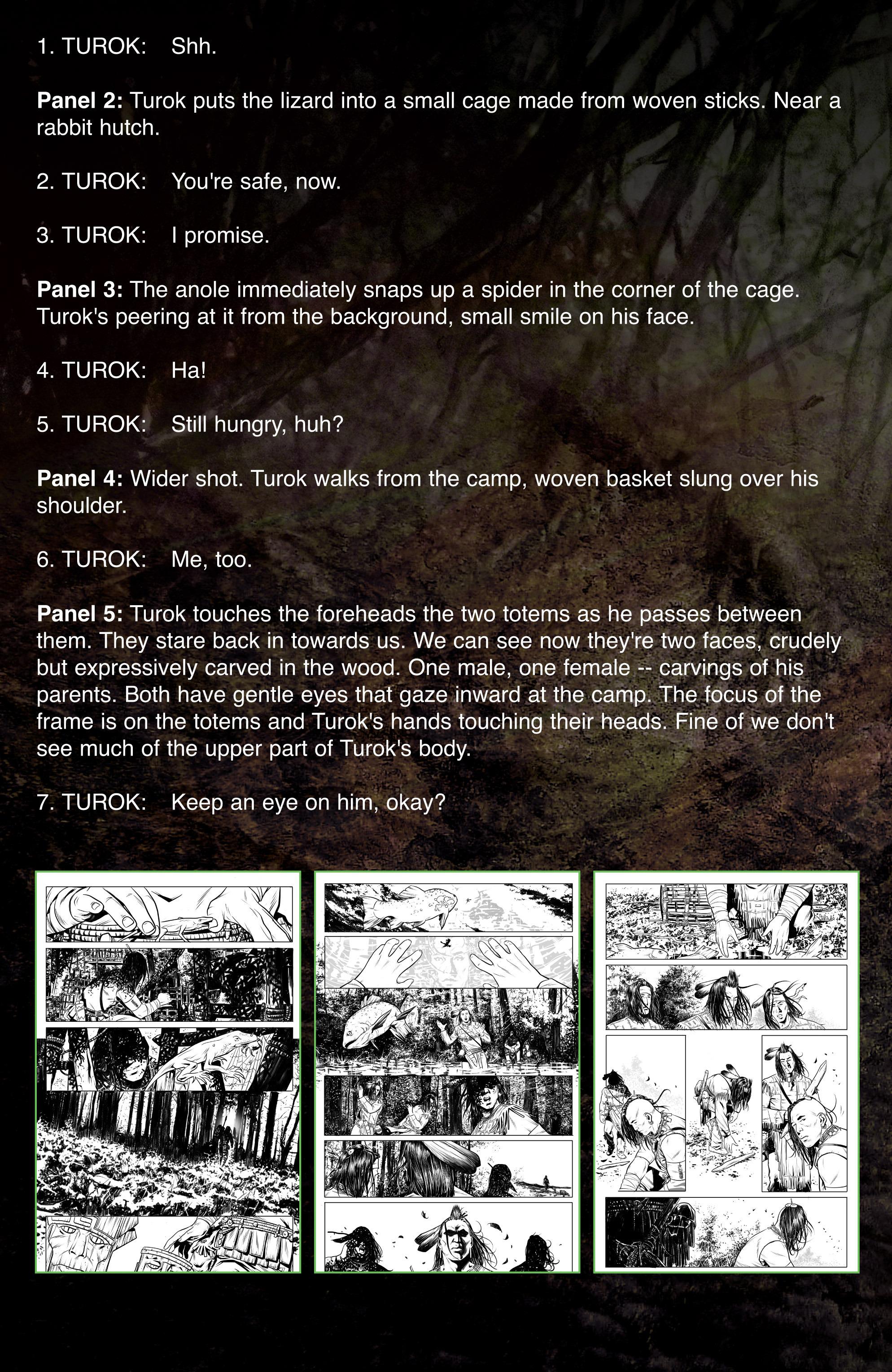 Read online Turok: Dinosaur Hunter (2014) comic -  Issue # _TPB 1 - 99