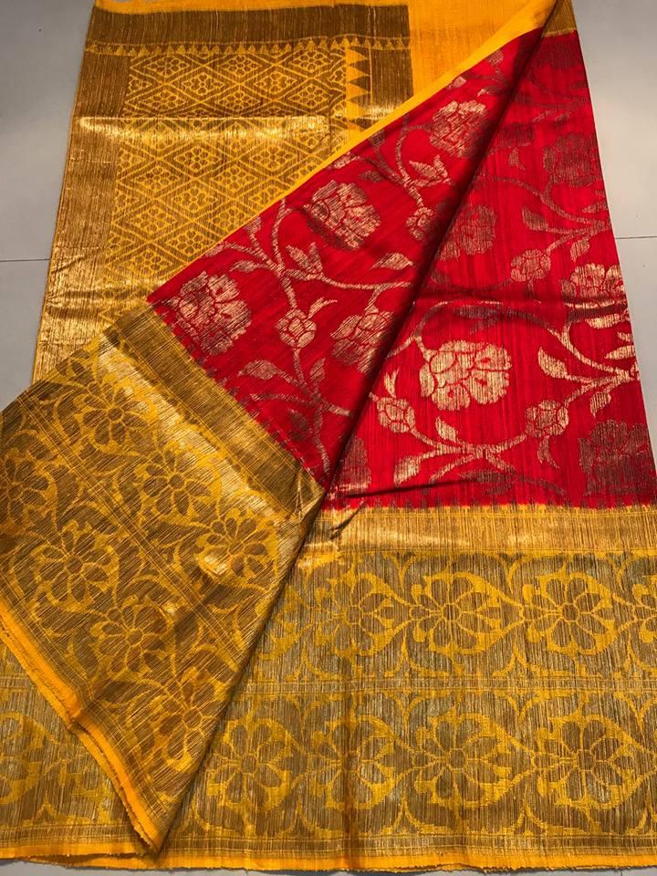 new arrival banaras dupion sarees buy online banaras