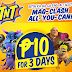 Play COC For 3 Days For Only P10