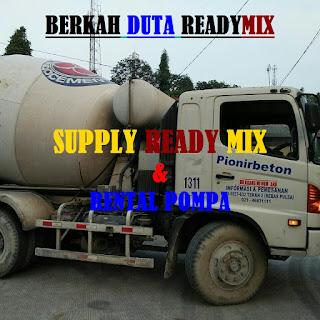 HARGA READY MIX  / BETON COR TIGA RODA