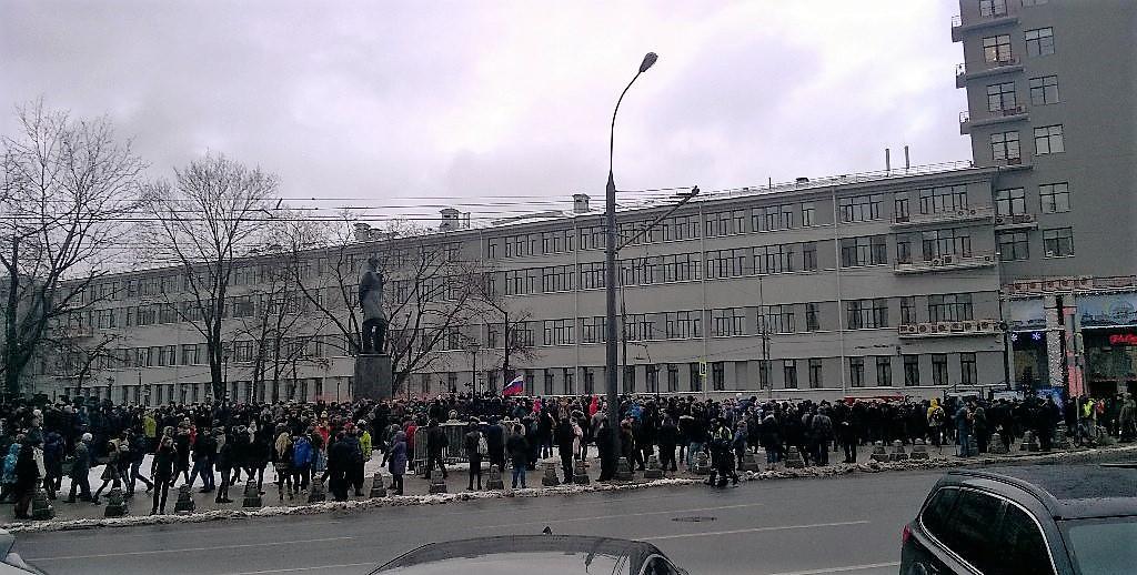 Владимир Милов Лермонтовский сквер