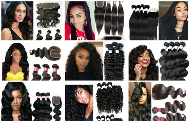 human hair extension, hair bundles, ombre, clip-ins