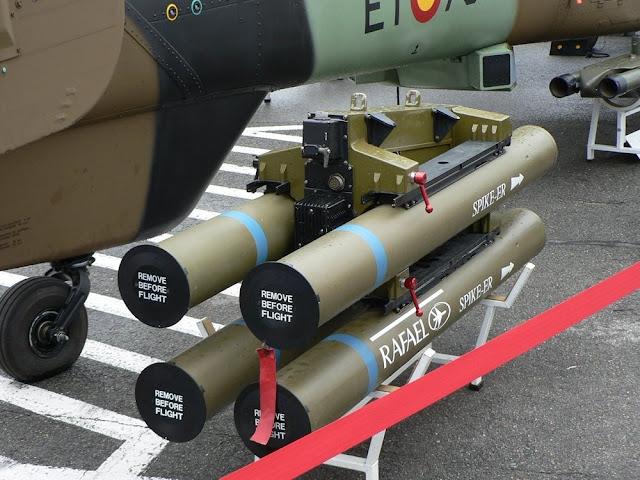rafael spike-er missile