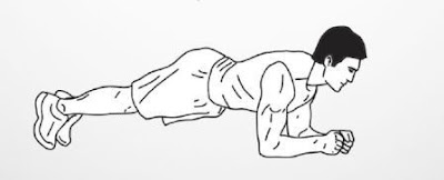 30 Day HIIT Workout Day 2 Elbow Plank